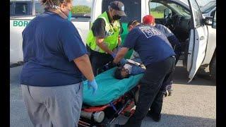 17 migrantes abandonados fueron rescatados en Texas