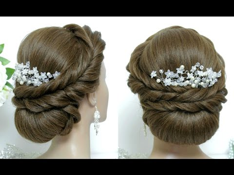 Download Youtube Mp Bridal Hairstyle For Long Hair Tutorial - Wedding hairstyle download