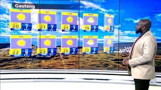 SA Weather   Friday, 22 May 2020   #SABCWeather
