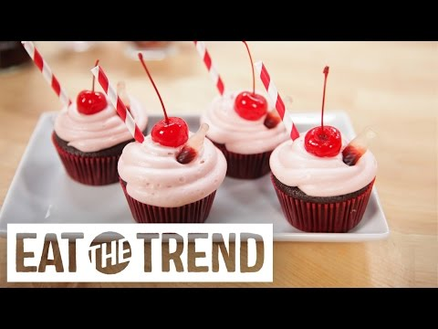 connectYoutube - Dr Pepper Cupcakes | Eat the Trend