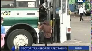 Empresarios del transporte público se pronuncian