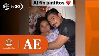 Erick Elera protagonizó emotivo reencuentro con su hija Flavia | América Espectáculos (HOY)
