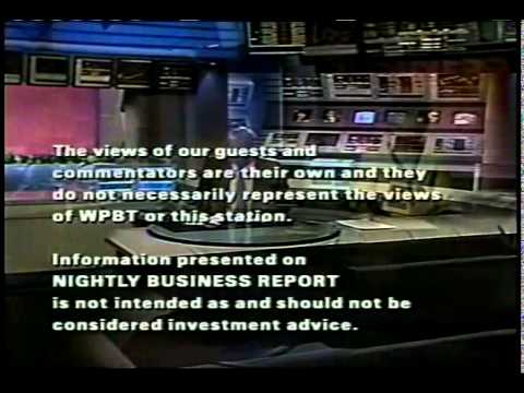 Nightly business report dailymotion 2001