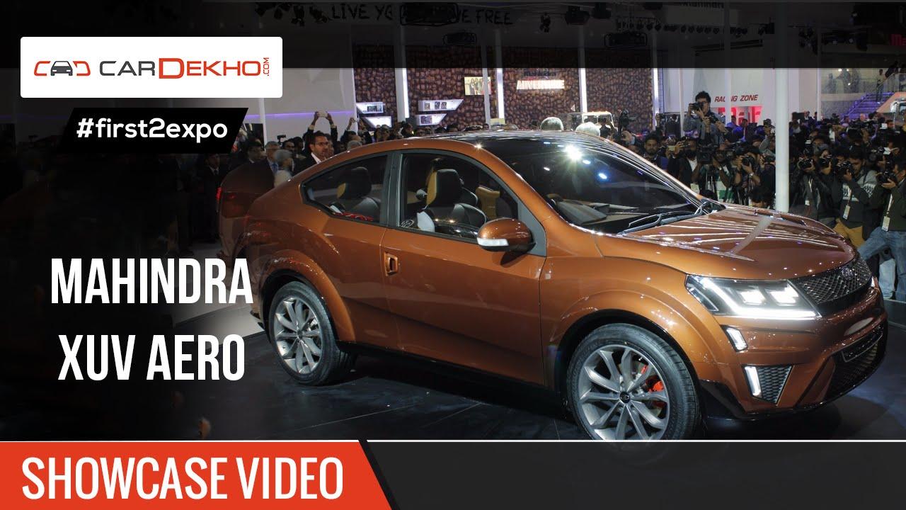 #first2expo | മഹേന്ദ്ര എക്സ്യുവി എയ്റോ concept | showcase വീഡിയോ | cardekho@autoexpo2016