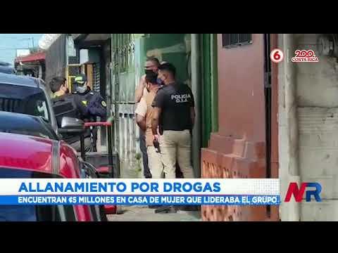 Tres detenidos tras allanamiento por drogas en Alajuela