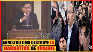 El Ministro de justicia incomodó a bancada de oposición: No hay una sola prueba de fraude electoral