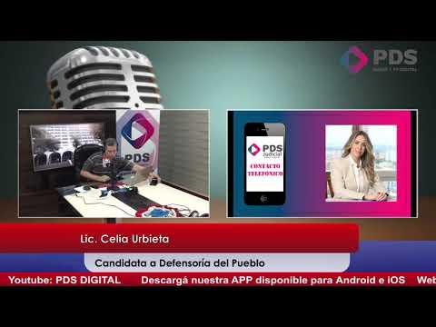 Entrevista - Lic. Celia Urbieta - Candidata a Defensoría del Pueblo