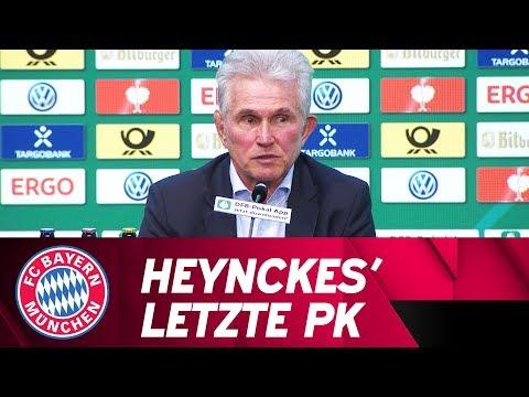Jupp Heynckes' letzte Pressekonferenz - DFB Pokalfinale