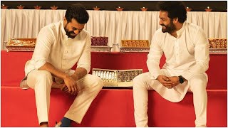 Jr NTR And Ram Charan Diwali Celebration | #RRR |TFPC - TFPC