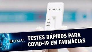 Especialistas explicam quando realizar um teste rápido para Covid-19 | SBT Brasil (19/05/20)