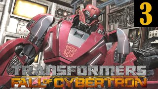 Transformers Fall of Cybertron Walkthrough Part 3 No Commentary 1080p 60FPS