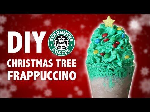 connectYoutube - DIY CHRISTMAS TREE FRAPPUCCINO
