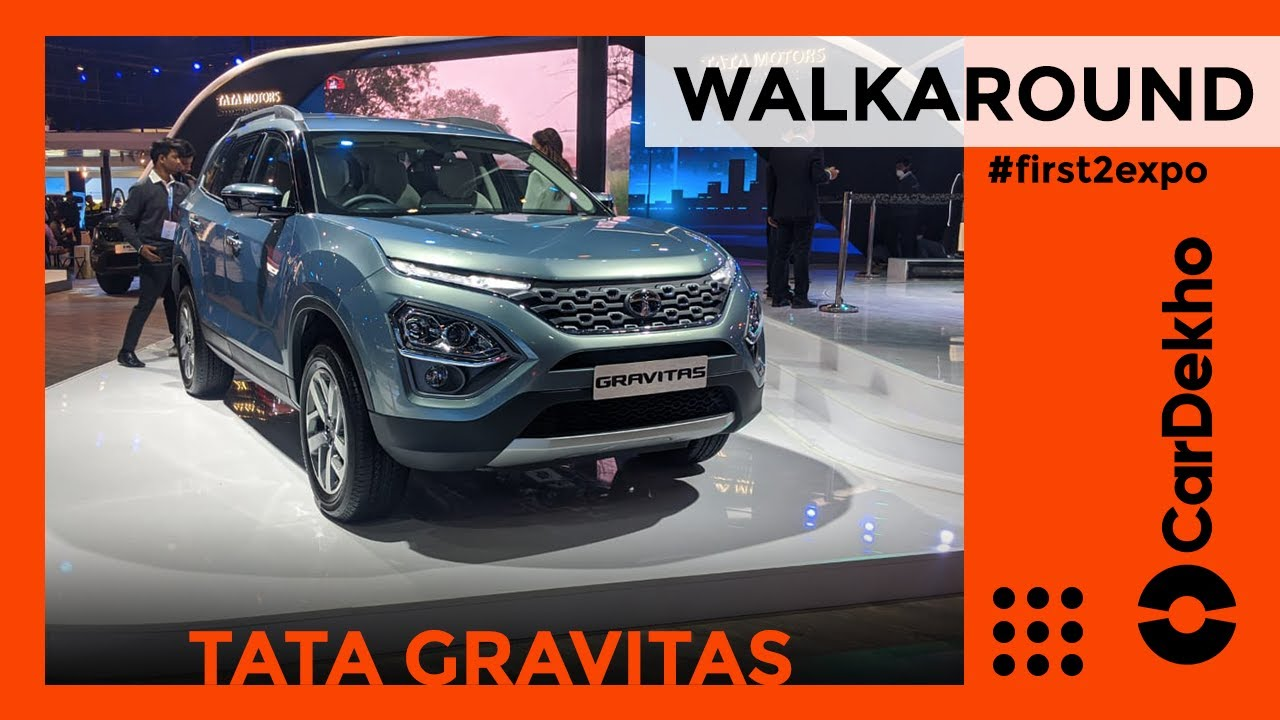Tata Gravitas Revealed Walkaround Review Auto Expo 2020