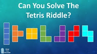 Can You Solve The Tetris Riddle? (Tetromino Puzzle)