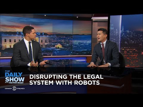 connectYoutube - Disrupting the Legal System with Robots | The Daily Show