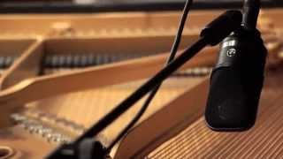 Neumann TLM 107 Multipattern LDC Microphone on Grand Piano