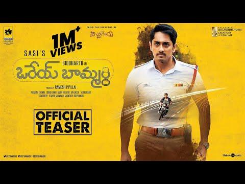 Orey Baammardhi Official Teaser | Siddharth | G.V. Prakash Kumar | Sasi | Siddhu Kumar
