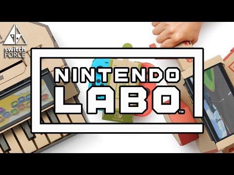 Nintendo Labo Reaction - WORST IDEA OR GENIUS GAMES? (Nintendo Switch Reveal 2018)