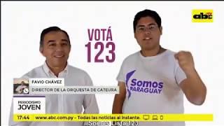 Favio Chávez denuncia el uso indebido de la Orquesta de Cateura en política (2018)