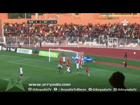 نهضة بركان 1-0 جينيراسيون فوت هدف محمد عزيز - كأس الكاف -