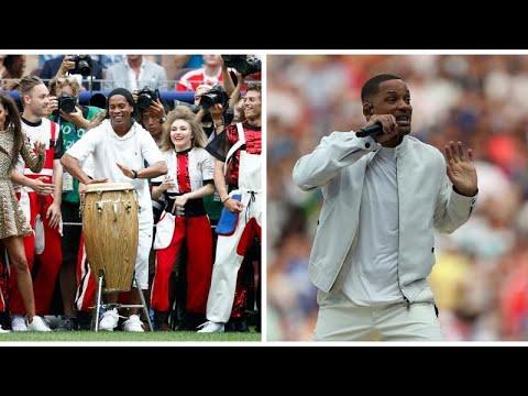 حفل ختام كأس العالم 2018: رونالدينيو والممثل الأمريكي ويل سميث ينشطان العروض…