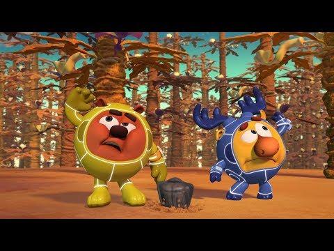 Кадр из мультфильма «Пин-код. Прыжок в будущее. Тайна сгоревшей планеты»