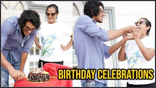 Legendary Actor Srihari Son Meghamsh Srihari Birthday Celebrations | TFPC - TFPC