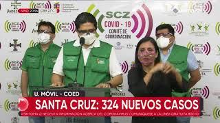 Santa Cruz supera los 35 mil casos de coronavirus tras registar 324 contagios este lunes