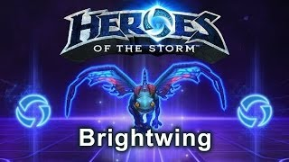 Heroes of the Storm - Brightwing (Gameplay)