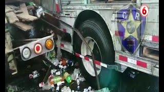 Tres fallecidos en accidente de tránsito en Cervantes de Alvarado