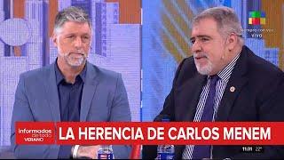 La herencia de Menem   Miguel Ángel Pierri: