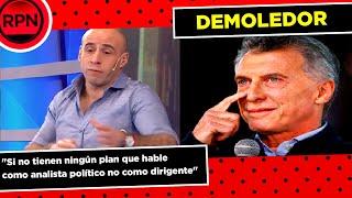 El pelado de Crónica atendió a Macri tras su critica a Alberto