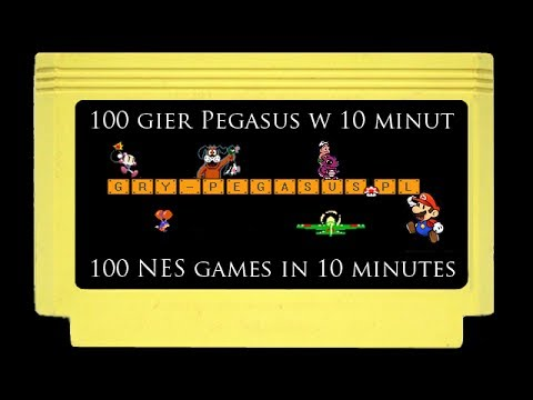 Video: 100 NES games in 10 minutes! -