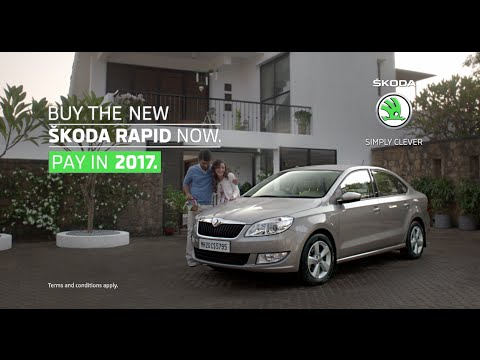 skoda rapid buy now pay in 2017 video 2907. Black Bedroom Furniture Sets. Home Design Ideas