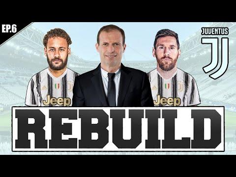 REBUILDING CON LA JUVENTUS! LA NUOVA SQUADRA DI ALLEGRI! FIFA 21 CARRIERA ALLENATORE JUVENTUS #6