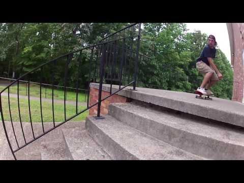 Day In The Life Skateboarding Charlottesville, VA - GoPro