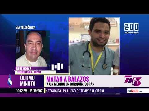 Acribillan a médico en Corquín, Copán