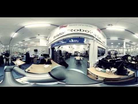 360° tour - Bristol Robotics Laboratory - Robotics Innovation Facility