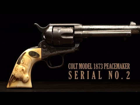 Colt Model 1873 Peacemaker, Serial Number 2