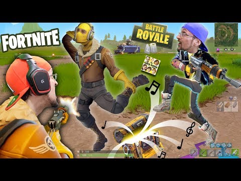 connectYoutube - FORTNITE Battle Royale Rap!  FGTEEV vs. 100 PEOPLE PVP! SNIPER FUNNY MOMENTS + New Map Double Chests
