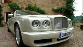 Bentley Azure on roads