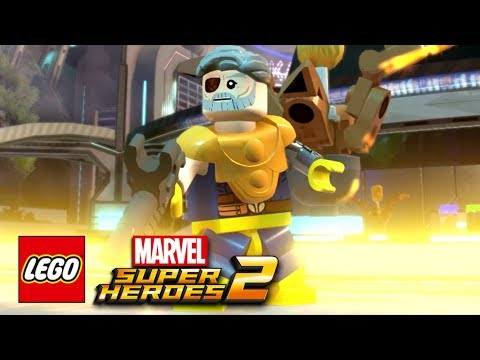 connectYoutube - LEGO Marvel Super Heroes 2 - How To Make Cable (Nathan Summers)