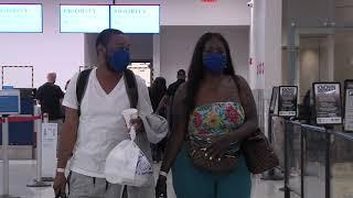 COVID-19: Multas y nuevo protocolo a viajeros en el Aeropuerto LMM