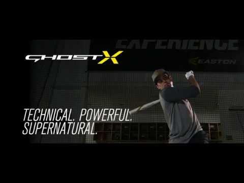 Easton Ghost X BBCOR Baseball Bat | Tech Video