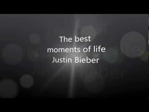 "Video: JUSTIN BIEBER - we ""love"" you"