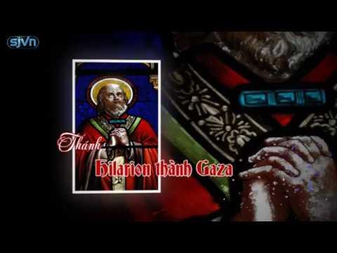 Gương Thánh Nhân Ngày 21.10 Thánh Hilarion thành Gaza