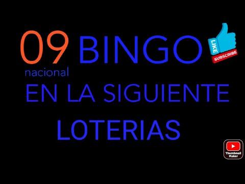 NUMEROS PARA HOY(09)bingazo en la nacional dia