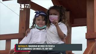 Inauguran dos nuevas infraestructuras educativas en Waspam - Nicaragua