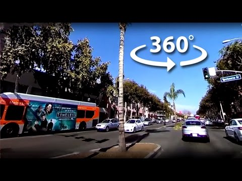 West Hollywood 360 Drive || #YT360Day