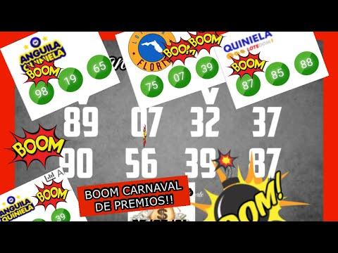 BOOM!! CARNAVAL DE PREMIOS PALE 07-39 EN LOTERIA FLORIDA,87 EN LA QUINIELA Y 98 EN ANGUILA!!
